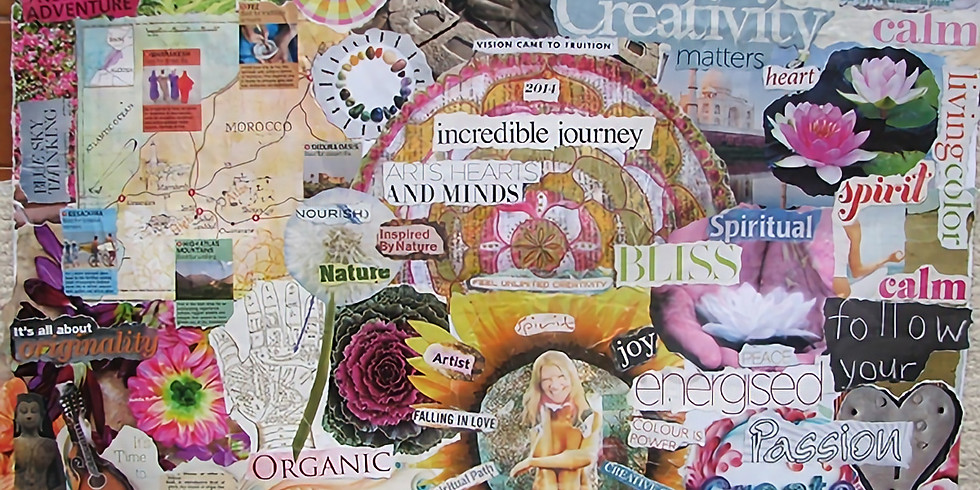 Vision Board and New Moon Manifestations Workshop