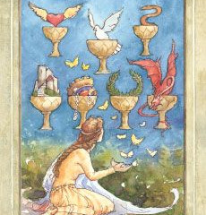 Tarot of the Day: 7 of Cups