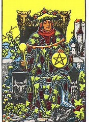 Tarot Card of the Day: King of Pentacles