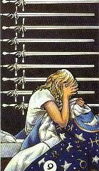 Tarot of the Day: 9 of Swords