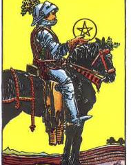 Card of the Day: Knight of Pentacles