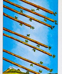 Tarot of the Day: Eight of Wands
