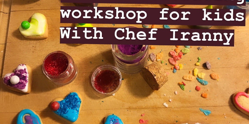 Love Yourself Yoga Class and Cookie Decorating Workshop for Kids with Chef Iranny
