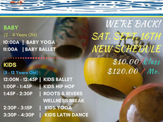 Sweet Waters Dance and Yoga Roots and Rivers Kids: A Wellness & Arts Program