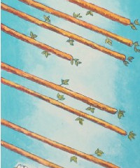 Tarot of the Day: Eight of Rods