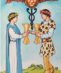 Tarot of the Day: Two of Cups