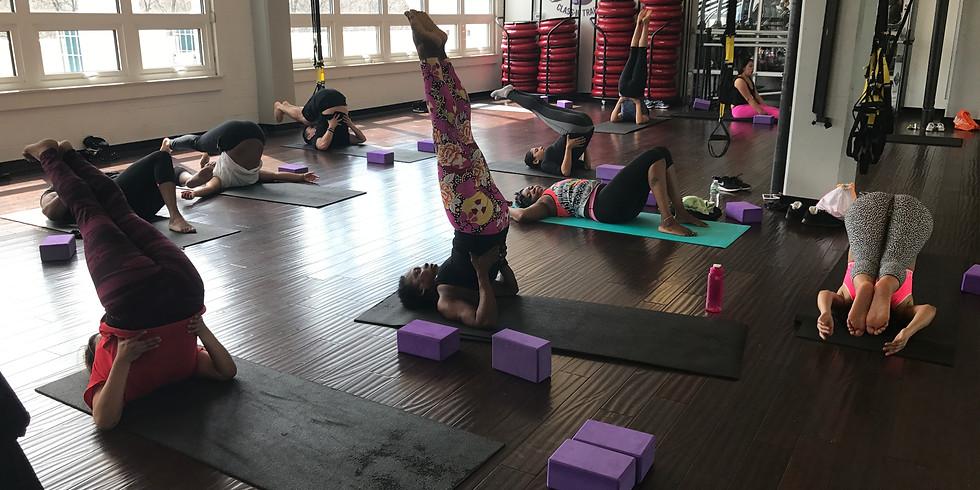 Calorie Burning Vinyasa Yoga Class and Meditation