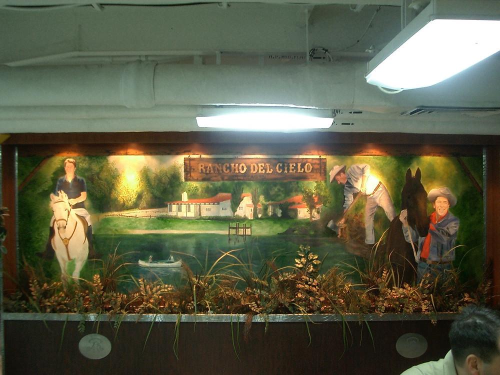 USS Ronald Reagan Mural