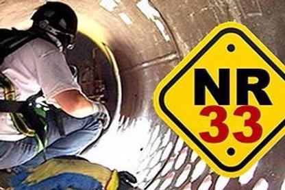 Treinamento NR33 a partir R$ 150,00 Espaço Confinando
