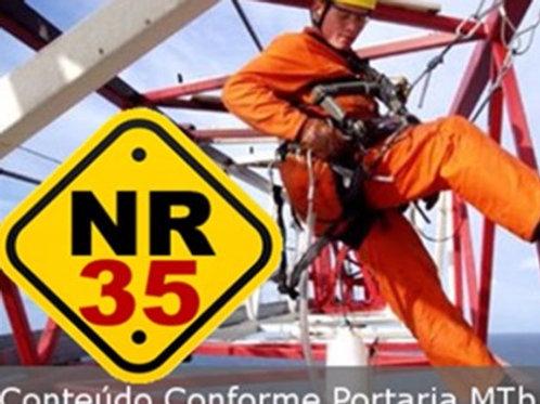 Treinamento NR35 a partir de R$ 80,00 Trabalho em Altura