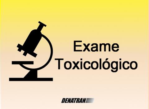 Teste Toxicológico