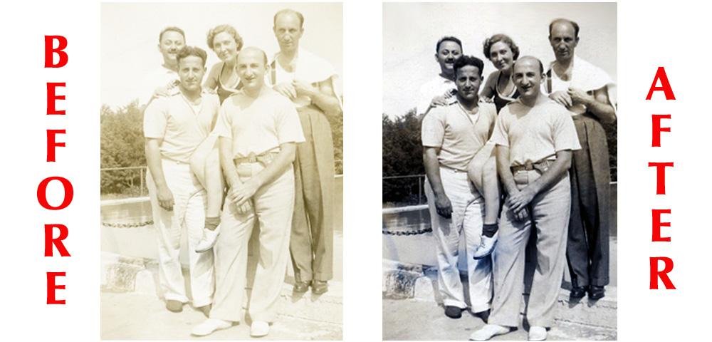 photo restoration sample copy