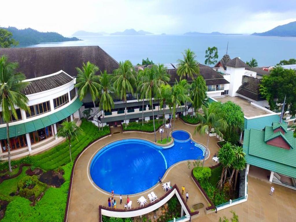 Grand Andaman Hotel Myanmar Ariel