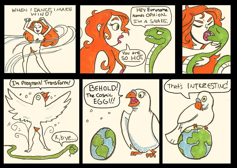 Mythology Comic 3