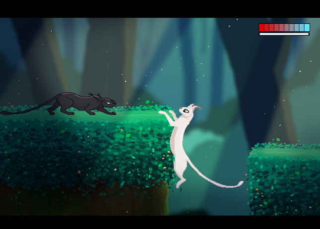 in-game concept art for a 2d side scrolling video game