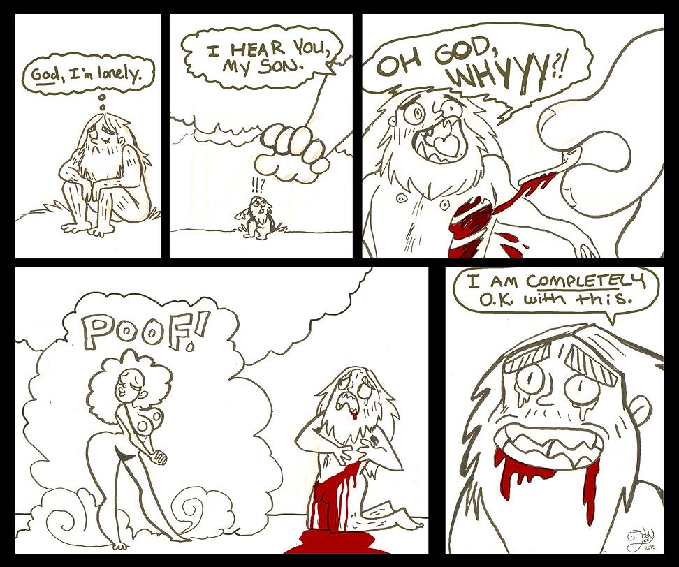 Mythology Comic 1