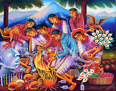 Sacrifice and Tradition of Pascual Abaj
