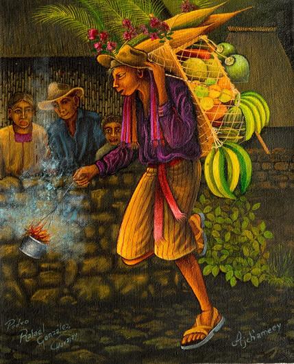 Bringing Fruit from the Coast