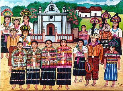 Procession, Santa Catarina Ixtahuacán