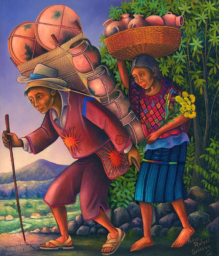 Sellers from Chichicastenango