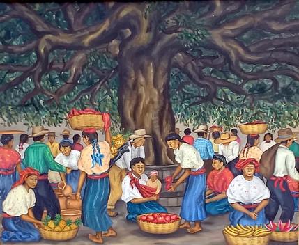 Market Beneath the Ceiba Tree