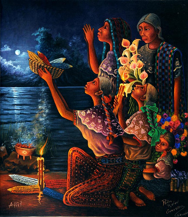 Grandmother Moon and the Women