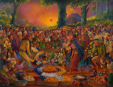 Waxaq'ii B'atz' - Ceremony of a New Cycle
