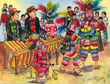 Baile de Conquista, San Pedro la Laguna