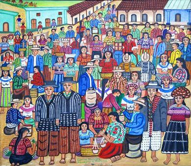 Market at Sololá