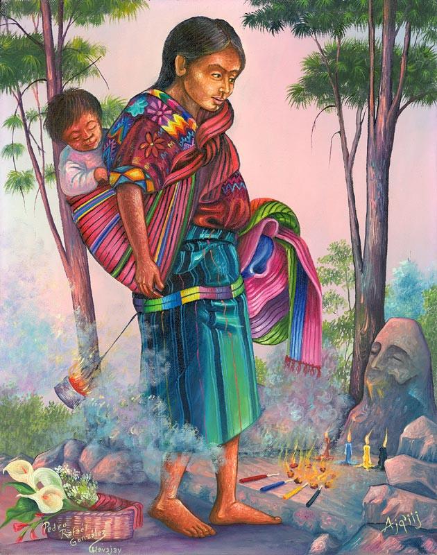 Akqkiij / Maya Priest
