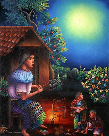 Hardworking Woman of San Pedro la Laguna