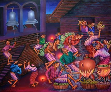 Noche velada por el día de los santos