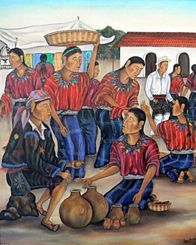 Market in Patzún