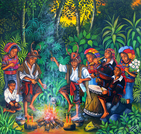 Ritual Dance / Danza ritual