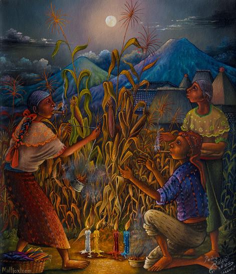 Tribute to Grandmother Moon / Tributo Abuela Luna / Maltioxinem