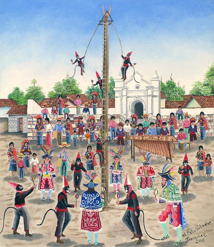 The Ritual of the Pole Flyers