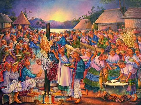Blessing of the Corn / Consagración del maíz