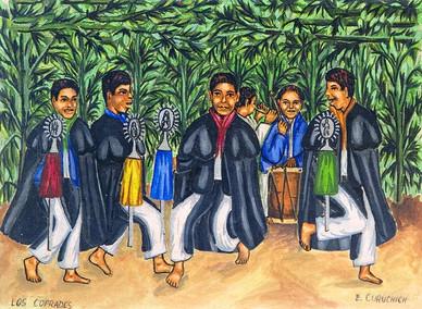 Members of the Cofradía