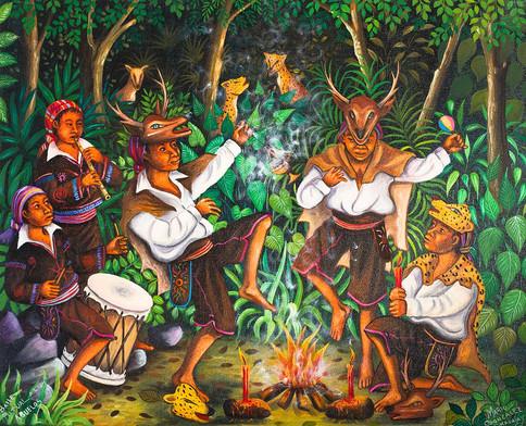 Ritual Dance for the Ancestors / Baile ritual a los abuelos