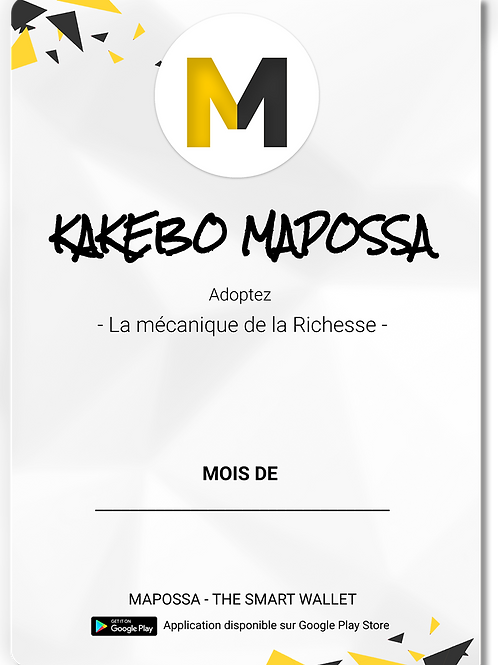Kakebo Mensuel