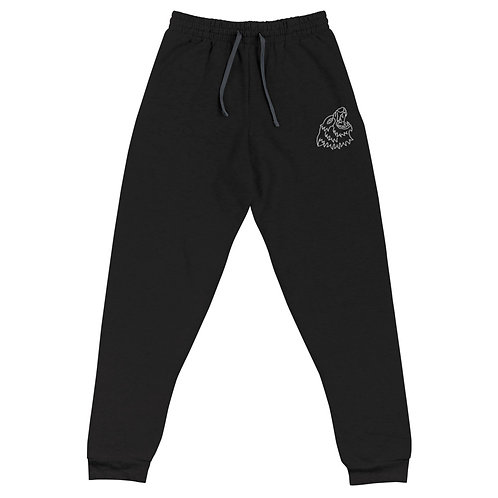 Lead Your Pack - Embroidered Joggers