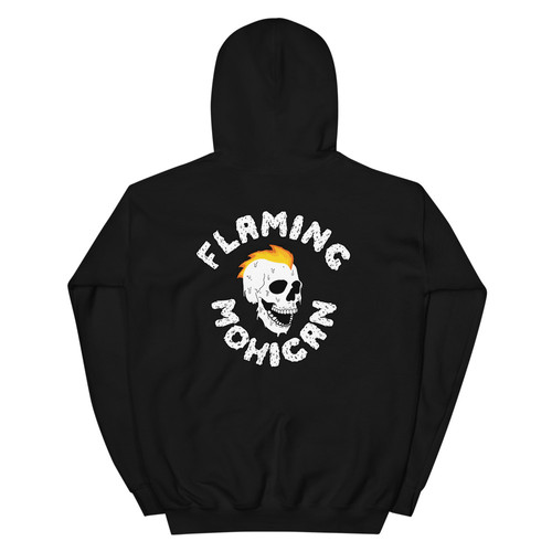 Flaming Mohican Hoodie