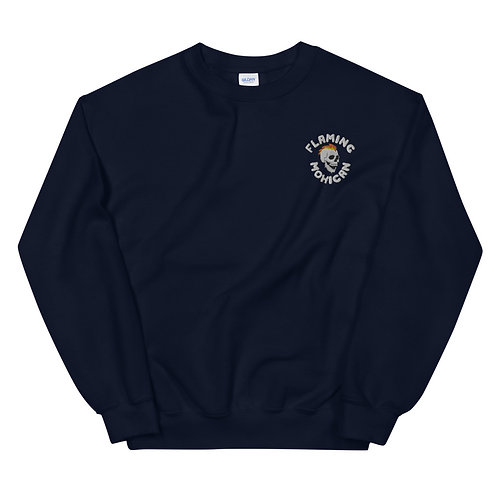 Flaming Mohican - Embroidered Sweatshirt
