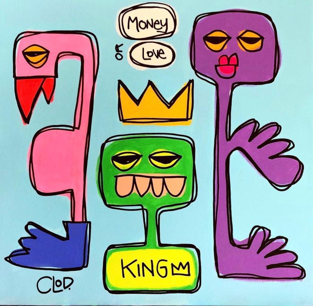 MONEY OR LOVE.