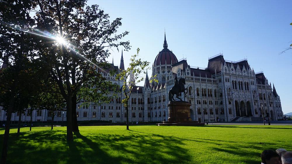 El Parlamento de Budapest es de lo mas hermosos del mundo!