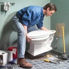 Toilet fixing