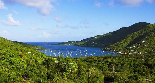 View of Coral Bay in Saint John US Virgin Island.jpg