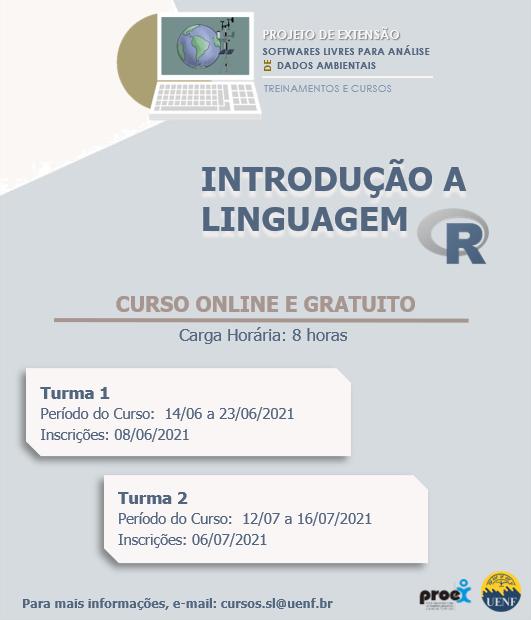 """Curso """"Introdução a Linguagem R"""""""