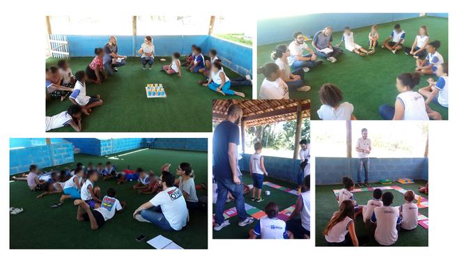 Projeto de extensão da UENF desenvolve atividades em escola municipal de Macaé.