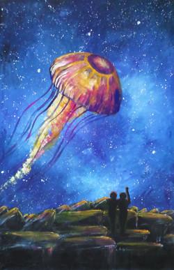 Jellyfish comet